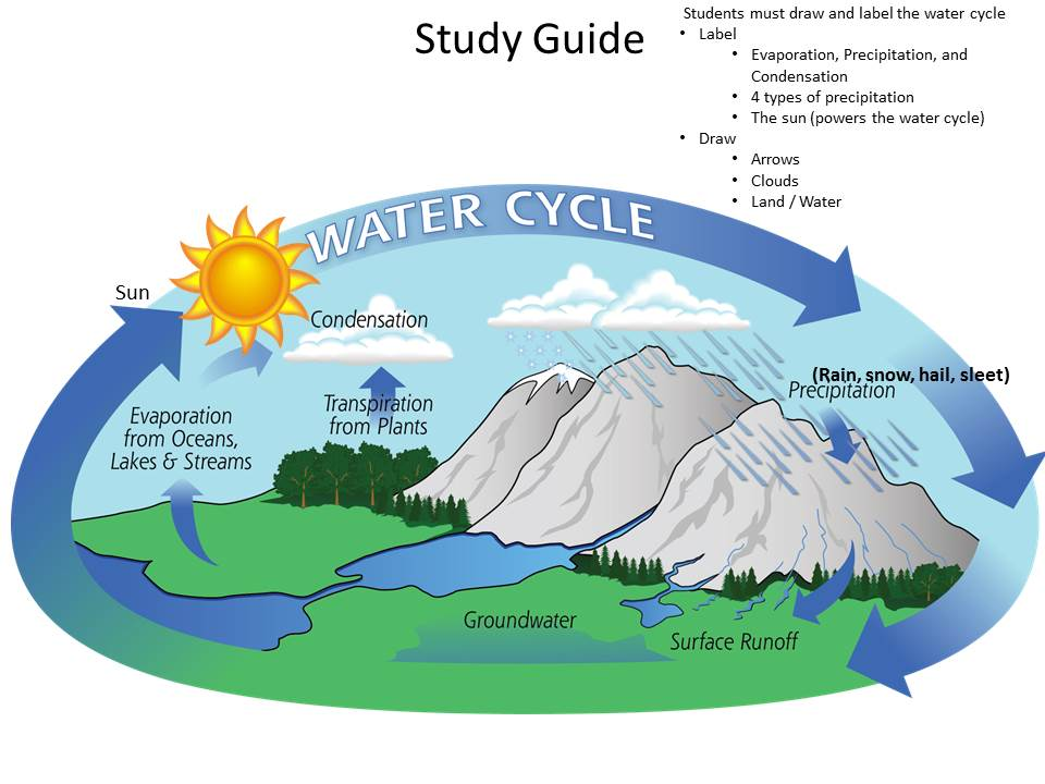 Water Cycle Projects For 4th Grade   Club